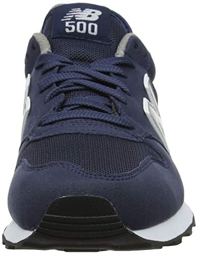 new balance 500 uomo blu navy