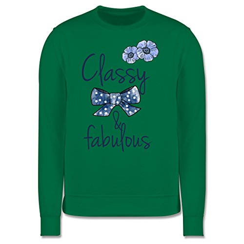 Statement Shirts - Classy and fabulous - Herren Premium Pullover Grün