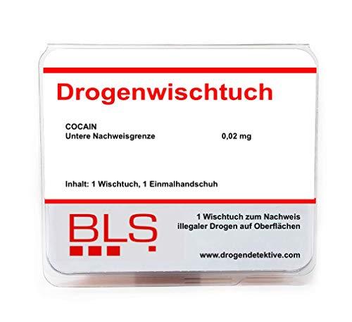 Drogentest als Oberflächen- & Wischtest - Drogenschnelltest für die Bestimmung von COCAIN -