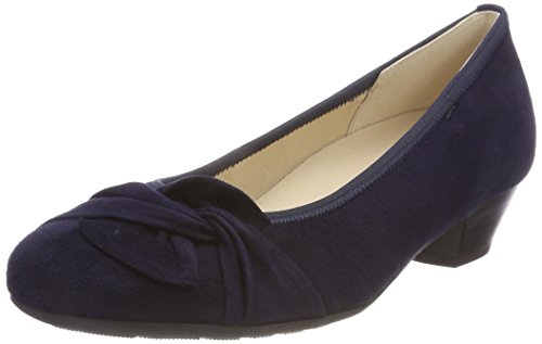 Gabor Shoes Damen Comfort Basic Pumps, Blau (Bluette), 42 EU