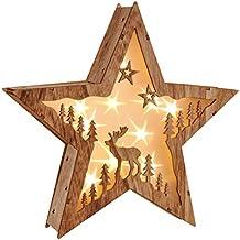 Aldi Weihnachtsdeko.Weihnachtsstern Holz Mit Led Suchergebnis Auf Amazon De Fur