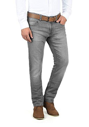Indicode Quebec Herren Jeans Hose Denim Aus Stretch-Material Regular Fit, Größe:W30/32, Farbe:Light Grey (901)