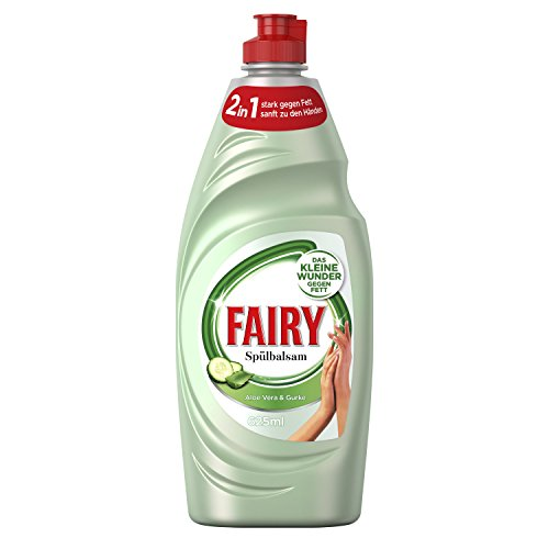 Fairy Spülbalsam Aloe Vera&Gurke Geschirrspülmittel, 625 ml