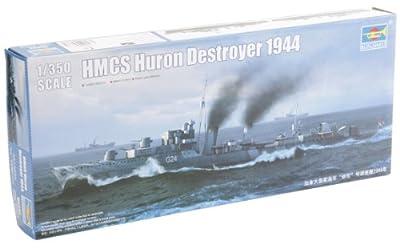 1/350 destroyer de la Marine canadienne NCSM Huron 1944 (05 333) (Japon import / Le paquet et le manuel sont ?crites en japonais)
