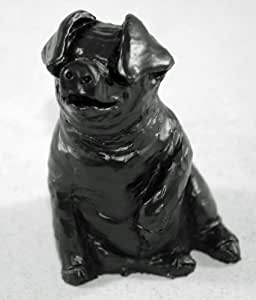"""Sitting Pig Coal Model """"Spiro Pig"""" - Hand Crafted - 537"""