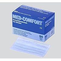 Mundschutz Med Comfort, dreilagig, blau 50 Stk. preisvergleich bei billige-tabletten.eu