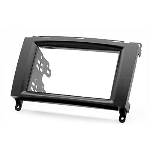 carav 11?133 Doppel DIN Autoradio Radioblende DVD Dash Installation Kit * 98 mm und 178 * 102 mm (Mercedes Stereo Installation Kit)