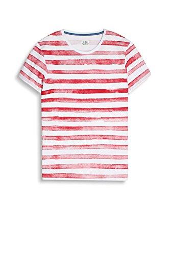 edc by ESPRIT Herren T-Shirt Rot (Red 630)