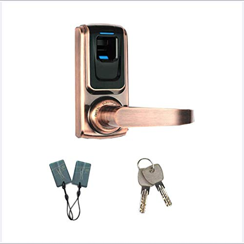 Preisvergleich Produktbild Smart Door Lock Biometric Fingerprint Door Lock Keypad Code Smart Home Entry for Aluminium oder Wooden Door