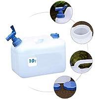 Dispensador en Plástico Cubo de Almacenamiento de Agua al Aire Libre Ideal para Deportes Cuando Vas