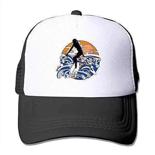 Summer Flexfit Trucker Mesh Hat, Surfing Sun Hats Sports Baseball Caps - Post Cap Kit