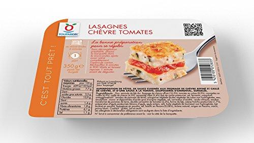 Toupargel Lasagnes Chèvre Tomates 350 g Surgelé