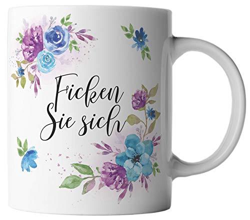 ghostee Tasse - Ficken Sie sich/Fick Dich/Fuck You - lustiges Geschenk