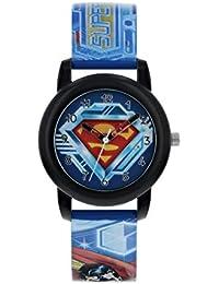 edaac0e9eb7a Superman Reloj Analógico para Niños de Cuarzo con Correa en ...