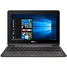 "ASUS TP201SA-FV0010T - Portátil con pantalla táctil de 11.6"" HD (Intel Celeron N3060 , RAM de 4 GB, 500 GB HDD, Intel HD Graphics, Windows 10 Original) metal gris - Teclado QWERTY Español"