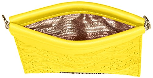Love Moschino Damen Jc5301 Umhängetasche, 1x20x12 cm Yellow