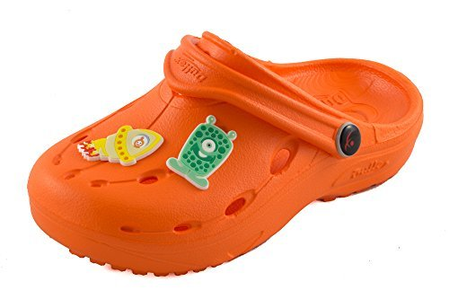 Chung Shi DUX Kids Schuh-Shibit-Set 7910090 Unisex-Kinder Clogs, Orange, 28/29