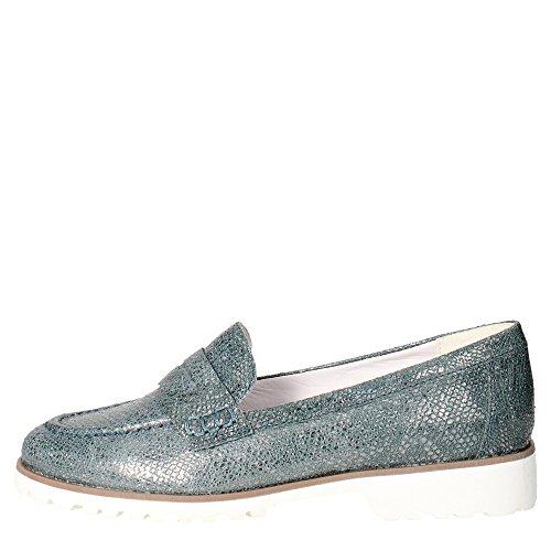 Pregunta IV5656-C 002 Mocassino Donna Pelle Jeans Jeans 39