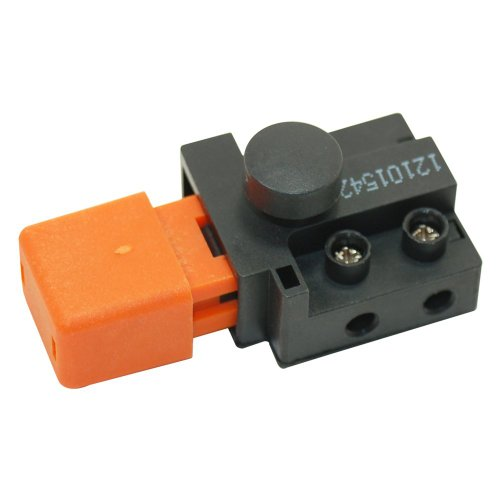 Flymo 250 Volt Lawnmower Switch. Genuine Part Number 5227209011 5227209-01/1 for Micro Compact Microlite  Turbo Compact , Vision  Turbolite Venturer Power Compact Sprinter Hover Compact Vision PC400, Roller  Intergarden Test