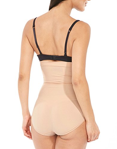 Spanx Power Series Highwaist-Shaping Panty Damen - Nude (Soft Nude)