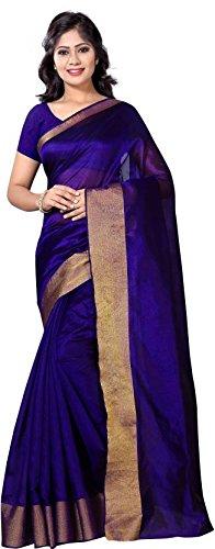 Vimalnath Synthetics Solid Fashion Cotton Saree'