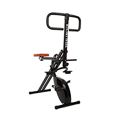 Total Crunch Evolution Whole Body Workout Machine with Integrated Exercise Bike from Ideal