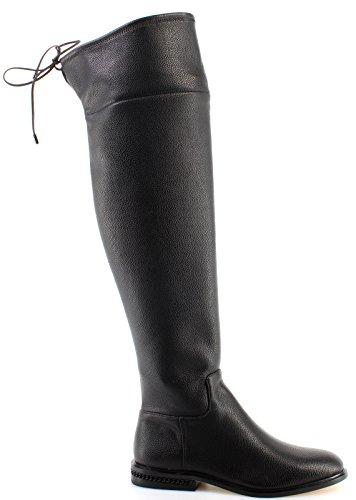 Stivali Michael Kors Jamie in pelle nera