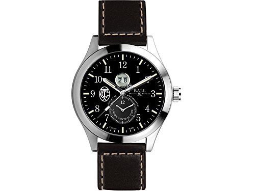 Ball Engineer Master II GCT Watch, Black, Leather strap, Limited Edition