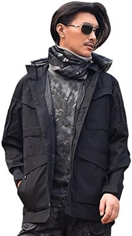 YuanDian Uomo Tattico Impermeabile Impermeabile Impermeabile Antivento Softshell Fodera Traspirante con Cappuccio Escursionismo Campeggio Scialpinista Cappotti | Moderno Ed Elegante A Moda  | Ad un prezzo inferiore  1cb48e