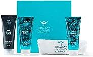 Bombay Shaving Company Shaving Starter Kit - Shaving Cream, Scrub, Post Shave Balm, with Free Towel