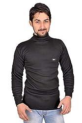 Amul Body Warmer Thermal Wear Upper Men -Black