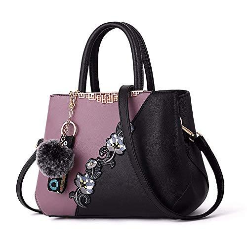 Handtasche Multifunktions-Design Elegante Einkaufstasche Für Die Schule Arbeit Reise Shopping Umhängetasche Tragbare Bestickt