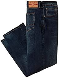 Izod Mens Big & Tall Comfort Stretch Relaxed Fit Jean, Lexington, 46x32