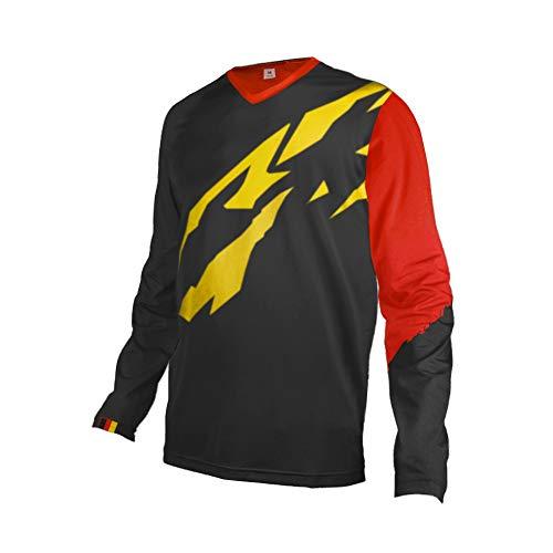 ZY Uglyfrog Racewear MX Motocross Jersey Shirt Enduro Offroad Motorrad Quad Cross Erwachsene