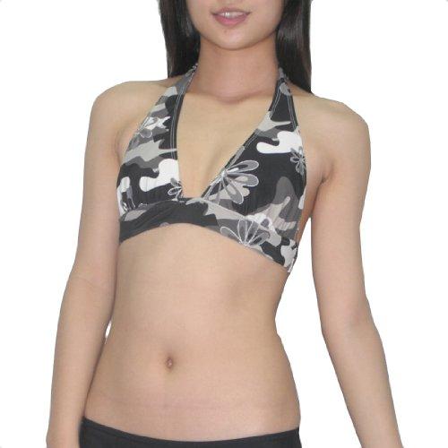 old-navy-femme-unpadded-wireless-bra-quick-dry-swim-bikini-top-xs-black-grey