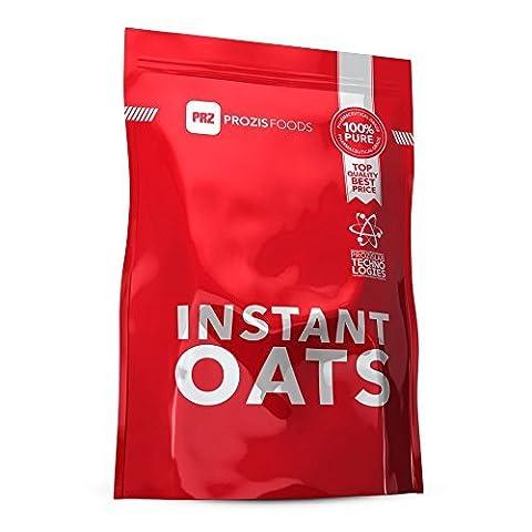 Prozis 100% Naturel Flocons en Poudre 1250g - Céréales Enrichies de Protéines et de Glucides de Haute Qualité - Goût Naturel - Convient pour les Végétarians et Végans - 41 Portions