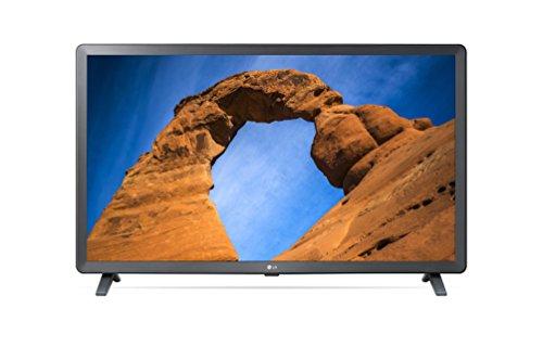 """41BA935kSRL - LG 32LK6100PLB - Smart TV de 32"""" (LED, Full HD, inteligencia artificial, Quad Core, 3 x HDR, Wi-Fi), color negro"""