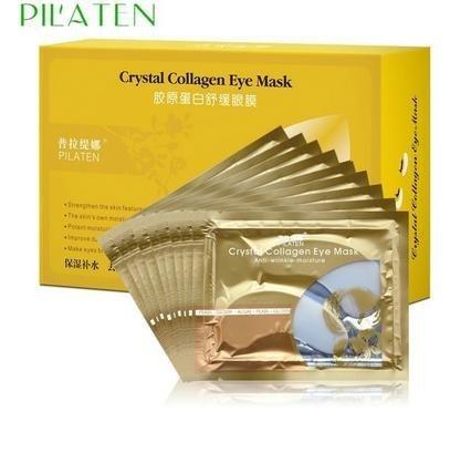Masque PILATEN cristal collagène yeux, anti rides humidité 15 paires (30 pièces)
