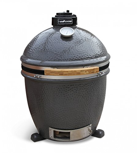 Best selling BBQ Wild Goose 18-Inch Kamado free standing alone Ceramic Grill - ACCESSORY PACKAGE INCLUDED!
