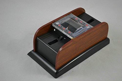 Fytoo Karten Mischmaschine Elektrisch,Batteriebetrieben, Kartenmischgerät für Poker