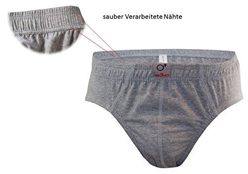 Herren Slips 6-12er Pack Unterhosen Bunt Farbig 100% Baumwolle Unterwäsche Gr. S M L XL XXL XXXL Sportslips Männer Jungen von SGS 12.Stück 570