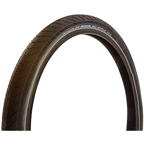 Schwalbe Big Apple Performance Wired Tyre with Raceguard Endurance Reflex by Schwalbe