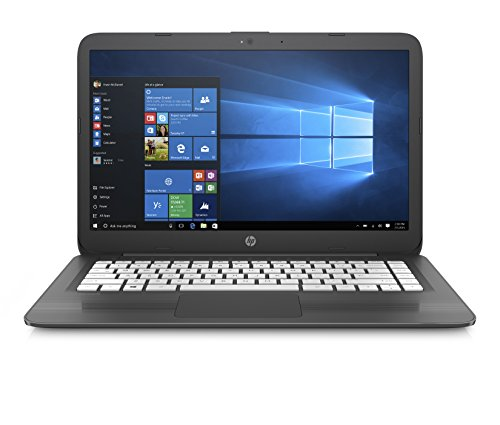 Foto HP Stream 14-ax025nl Notebook PC, Intel Celeron N3060 1,6 GHz, Ram 4 GB, eMMC da 64 GB, Grigio Fumo