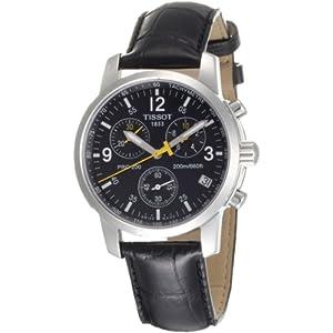 Tissot PRC 200 T1 – Reloj de Caballero de Cuarzo, Correa de Piel