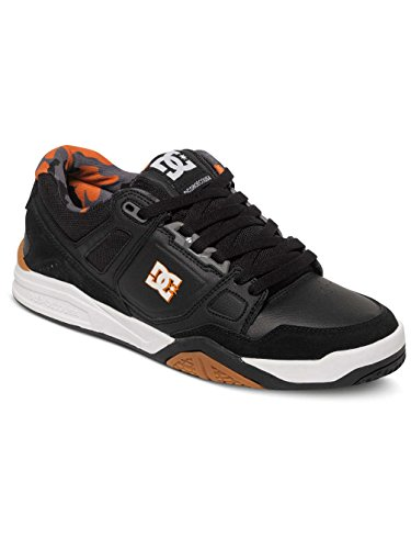 DC Shoes Stag 2 JH M Shoe XKKN, Sneakers Basses Homme Noir - Black/Black/Orange
