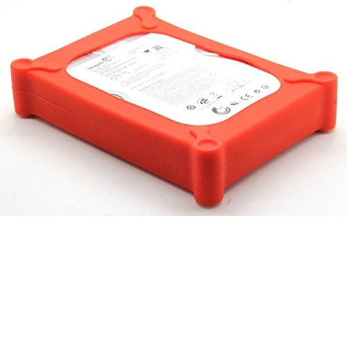 Da 3,5pollici Custodia protettiva Custodia in silicone HDD Hard Disk Drive Enclosure per 3.5SATA/IDE Hard Disk WD Hard disk