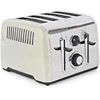 Breville Aurora 4 Slice Toaster (Cream)