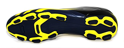 adidas FF80Pro TRX FG Rugby Stiefel Schwarz/Vivid Yellow Schwarz