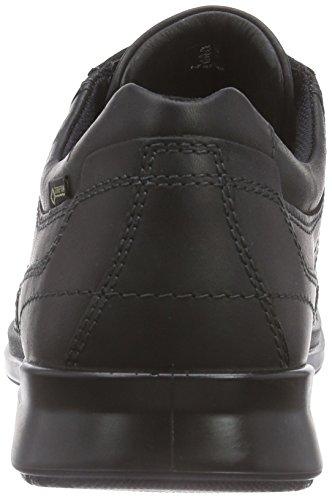 Ecco Ecco Howell, Derbies à lacets homme Noir (BLACK01001)