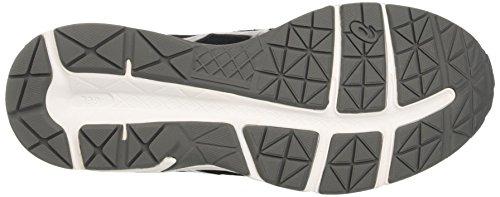 Asics Gel-Contend 4, Chaussures de Course pour Entraînement sur Route Homme Argent (Black/silver/carbon)